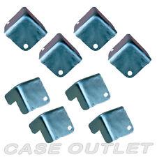 Road case cabinet metal corners 8 pcs  Zinc plated