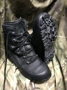 Genuine British Issue Black High Liability Haix Boots!grade 1! Size 7 Medium