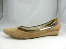 Elegant Barely Used DONALD J. PLINER Nerina  Seude Wedge Women's size 7 1/2 M