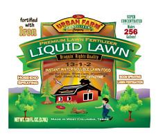 Liquid Lawn from Urban Farm Fertilizers, 1 gallon liquid lawn fertilizer, 13-1-2