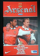 Arsenal  v  Blackpool  FA Cup 3rd round    13-12-1999