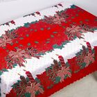 Christmas Xmas Tablecloth Dust Proof. Thanksgiving Table Cover Home Party Decor.