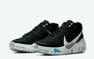 NEW Nike KD13 Black White Wolf Grey CI9948-001 Basketball Shoes Men's Size 12