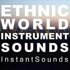 ETHNIC World SOUNDS Africa Asia India EXS 24 Pro Logic Sampler Akai WAV SAMPLES