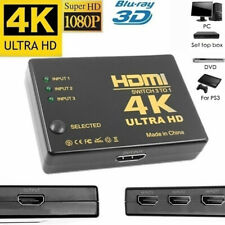 HDMI-Splitter Switch Adattatore Switcher 4K Ultra HD