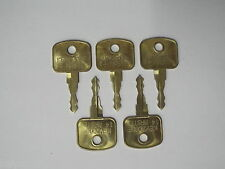 5 X MASTER plant key, 14603 - 14607 - 14707 - 14657, 5 PACK