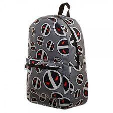 Marvel Deadpool 2 X-Force Sublimated Retro Vintage Travel Canvas Backpack Bag