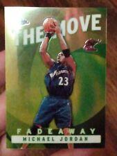 Michael Jordan 2003 Topps Chrome The Move Fadeaway TM6 WASHINGTON WIZARDS INSERT