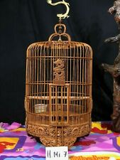 Asian Bamboo Bird Cage H Mi-7
