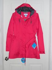 NWT NEW Columbia Women's PARDON MY TRENCH Rain Jacket Coat Size Large RL2148-639