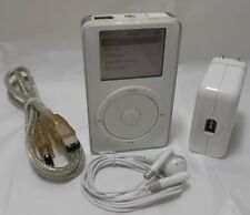 Apple iPod 5 GB White 1st Generation - VGC (M8513LL/A)