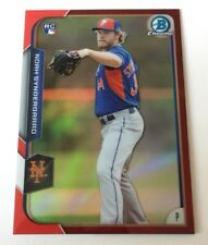 2015 Bowman Chrome Noah Syndergaard Red Refractor RC 5/5