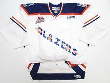 Other Game Used Memorabilia Nike Whl Kamloops Blazers Game Worn Orange Adult Hockey #11 Jersey Sz 58