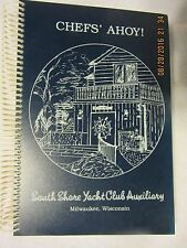 SOUTH SHORE YACHT CLUB RECIPES MILWAUKEE WISCONSIN 1988 75th ANNIVERSARY NICE!
