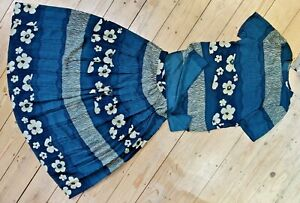 VINTAGE Designer WINDSMOOR long skirt and top set size 10-12