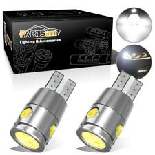 2x 6000K White LED License Plate Light Bulbs No Error for Mercedes BMW 168 194