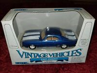 Vintage ERTL 1989 Chevy Camaro Muscle Car Die-Cast 1:43 Metal Replica MIP NOS
