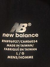 New Balance Men's Biker Exercise Shorts Pocket Black Sz Large