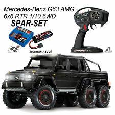 Crawler Traxxas Mercedes AMG G63 6x6 Brushed 1 10 Automodello Trx-88096-4blk