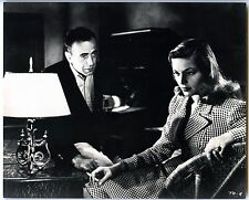 """HUMPHREY BOGART & LAUREN BACALL """"TO HAVE AND HAVE NOT"""" MOVIE STILL GLOSSY PHOTO"""