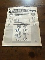 Beatles 1965 Adventure Cartoon Series Music For Piano