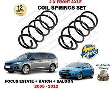 Pour Ford Focus II 1.8i 2.0i 1.6 TDCi 2005-2012 Nouveau 2 x Front Coil Springs Set
