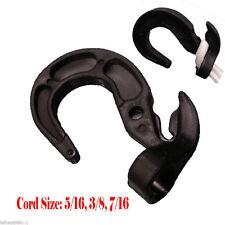 16X Bungee Cord Hooks Bungie Shock Cord Hook Tarp Straps Poly Tarp 3/16 1/4 5/16