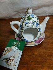 Bird Feeder Esschert Design hanging Teapot With Saucer Bird Feeder