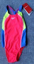 SPEEDO Endurance+ TGirl Image 1 PC Size 6 120cm/64cm Pink Lime Blue Brand New