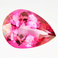 10.39 Ct GOOD COLLECTION RICH FIRE 100% NATURAL PINK DANBURITE