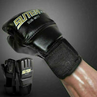 Boxen Mma Handschuhe Ringen Schlagen Training Kampfsport Sparring Sx#ksx flYfE