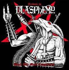 TRIBUTE TO BLASPHEMY  -BLACK WAR METAL COMPILATION   CD NEW+