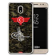 Samsung Galaxy J7 2017 Hülle - Osmanli Tugrasi Türkiye Türkei Camouflage - Moti