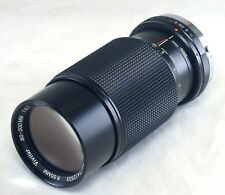 VIVITAR OLYMPUS OM 80-200mm f/4 MC Macro Focusing Zoom SLR CAMERA Lens