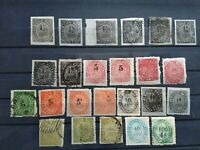PORTUGUESE INDIA 1871-1877 NATIVE NICE COLLECTION LOT MH & USED