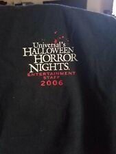 2006 Halloween Horror Nights 16 Entertainment Staff Shirt Sz Xl Sleeveless.