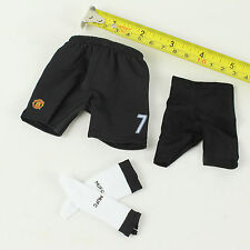 TC25-08 1/6th Manchester United No.7 Soccer Shorts w/ Socks