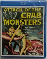 NEW ATTACK OF THE CRAB MONSTERS LIMITED EDITION BLU RAY SCREAM FACTORY EXCLUSIVE
