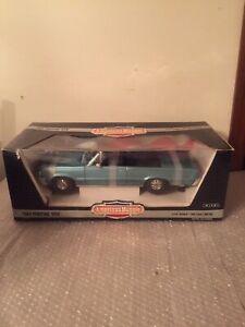 VTG ERTL 1964 PONTIAC GTO 1/12 SCALE DIE CAST AMERICAN MUSCLE CAR MINT