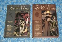 New IDW Sherlock Holmes Graphic Novel Set Volume 1 and 2 Hardcover USA SELLER