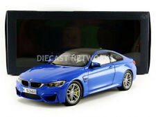 Paragon Models 2014 BMW M4 COUPE (F82) Blue Dealer Edition 1/18 Scale New!
