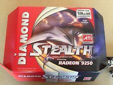 NEW ATI Radeon 9250 Diamond Stealth 256MB DDR Graphics Card DVI/VGA