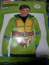New Turtles Tmnt hoodie costume Halloween sweatshirt Men Small/medium Up To 42