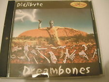 Didjibyte ‎– Dreambones (TRANCE/TECHNO CD EP)(VG+ CONDITION)