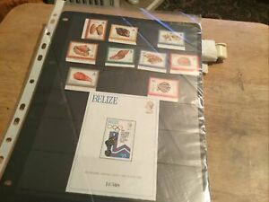 Belize Unmounted Mint Stamps Lot