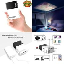 Mini LED Project Movie Home Theater TV Video Game Smartphone HDMI Laptop USB VGA