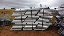 Temporary Fence Stands, Lift Of 150 Pieces, New, Galvanized Steel
