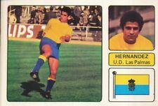 GUILLERMO HERNANDEZ # UD.LAS PALMAS CROMO CARD CAMPEONATO DE LIGA 1973-74 FHER