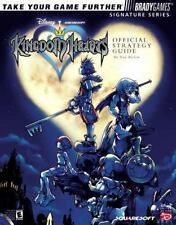 Kingdom Hearts PS2 Original Brady Games Official Strategy Guide w/ Stickers GOOD