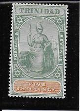 TRINIDAD 1896  5s  SG122 mint